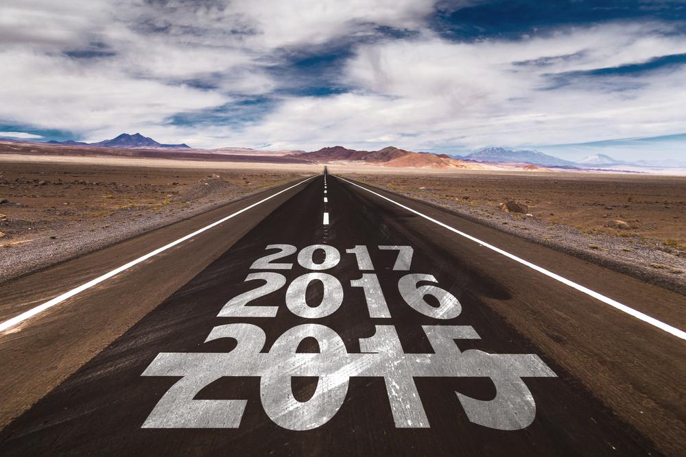 2016 2017 written on desert road